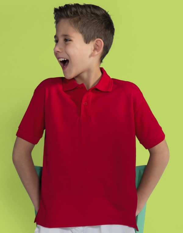 Kids' Poly Cotton Polo
