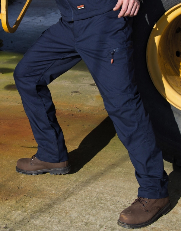 Work-Guard Stretch Trousers Long