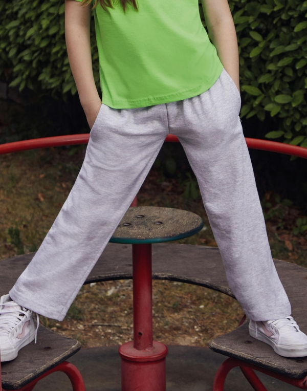 Kids Lightweight Open Hem Jog Pants