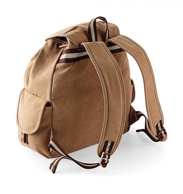 92c83e5a24 Vintage Canvas Backpack