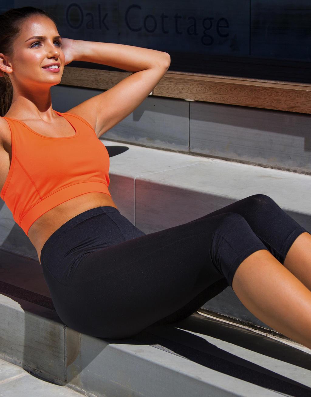 100% originale a piedi a nuovo elenco Pantaloni Capri donna Impact Softex®