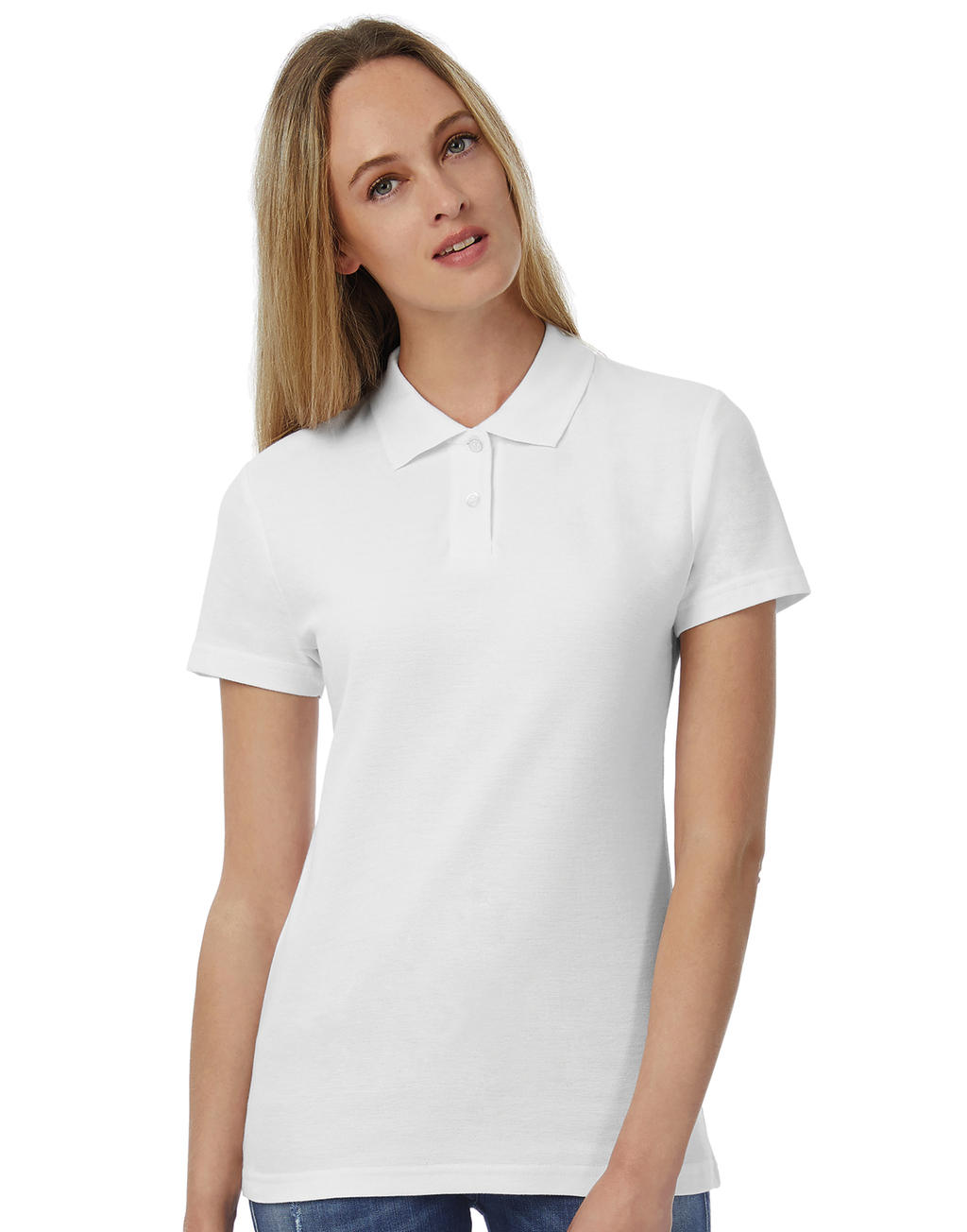Id001women Piqu Polo Shirt