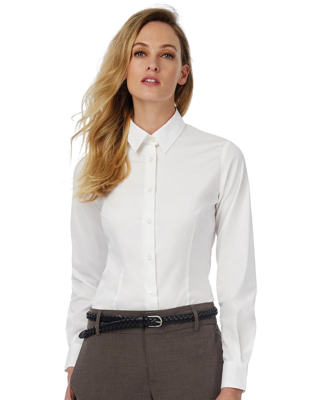 280ff1fffab Dámská popelínová košile Black Tie LSL women