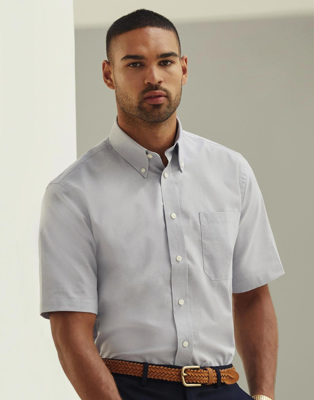 2015 Maniche Uomo Camicie Corte BodxeWCr