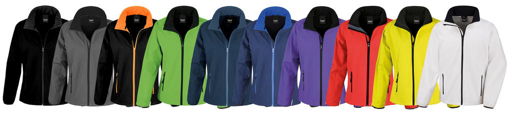 Ladies  Printable Softshell Jacket 3b47ddeb87