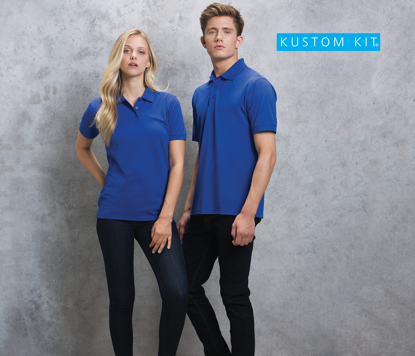 c98c05509 KUSTOM KIT - A collection of shirts and polos for men and women that  combine timeless styling with soft innovative fabrics in beautiful colours.