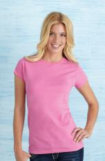 Gildan Ladies Fitted Ring Spun T-Shirt 64000L