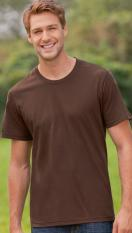 Hanes Men's Tagless Crew Neck T Organic                                 7031