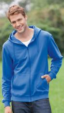 Hanes Men's Tagless Zipped Hoodie Organic                               7532