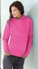 Fruit of the Loom Lady-Fit Hooded Sweat 62-038-0