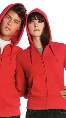 B&C Hooded Full Zip Women WW642