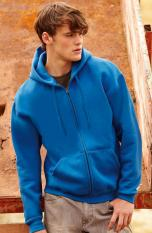 Fruit of the Loom Zip hooded sweat 62-034-0