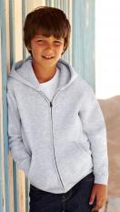 Fruit of the Loom Kids Hooded Zip Sweatshirt 62-035-0