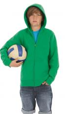 B&C Hooded Full Zip Kids WK682