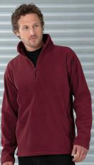 Russell Collection Adult's Quarter Zip Outdoor Fleece                                R-874M-0