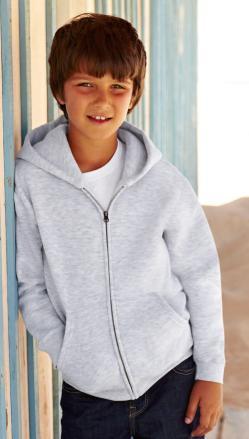 Dziecięca bluza z kapturem zapinana na zamek
