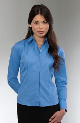 Bluzka popelinowa z długimi rękawami 712.00