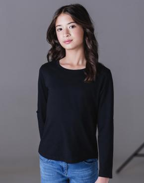 Girls LS Tabbed T-Shirt