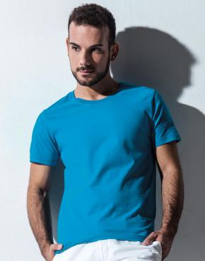 Wayne - Men's Organic Fitted T-Shirt