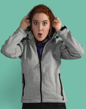 Ladies Knitted Bonded Fleece