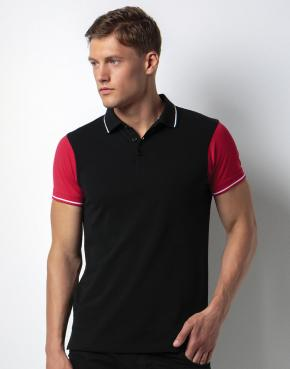 Contrast Tipped Polo