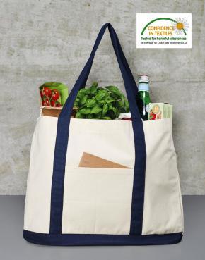 Hazel Canvas Shopping Bag