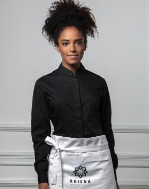 Bargear™ Mandarin Collar Shirt Lady LS
