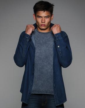 Denim Shirt LS - SMD85
