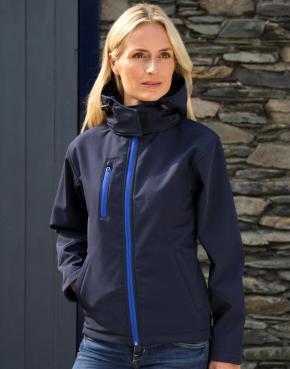 Ladies TX Performance Hooded Softshell Jacket